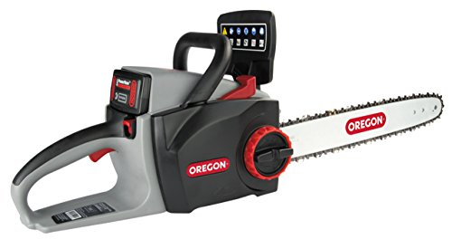 Oregon Cordless 16-inch Self-Sharpening Chainsaw with 2.6 Ah Battery and Charger