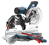 Bosch CM10GD Compact Miter Saw - 15 Amp Corded 10 Inch Dual-Bevel Sliding Glide Miter...