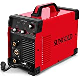 SUNGOLDPOWER 200Amp MIG MAG ARC MMA Stick DC Welder 110/220V Dual Voltage IGBT...