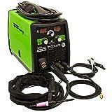 Forney 324 MIG/Stick/TIG 3-in-one 190-Amp Welder, 120/230-Volt, Green
