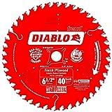 Diablo by Freud D0641X Finishing Saw Blade, Multi, 6-1/2' x 40'