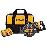 DEWALT FLEXVOLT 60V MAX Circular Saw Kit, 7-1/4-Inch, Worm Style, 9.0Ah Battery...