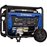 Westinghouse WGen3600 Portable Generator - 3600 Rated Watts & 4650 Peak Watts - RV...