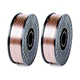 WeldingCity 2 Rolls of ER70S-6 ER70S6 Mild Steel MIG Welding Wire 11-Lb Spool 0.030'...