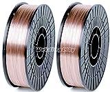 WeldingCity 2 Rolls of ER70S-6 ER70S6 Mild Steel MIG Welding Wire 11-Lb Spool 0.030'...