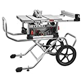 SKILSAW SPT99-11 10' Heavy Duty Worm Drive Table Saw with Stand, Silver