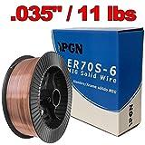 PGN - ER70S-6 .035' (0.9 mm) Mild Steel MIG Welding Wire - 11 Lbs Spool