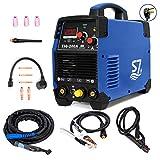 Tig Welder, HF TIG/Stick/Arc TIG Welder,200 Amp 110 & 220V Dual Voltage TIG Welding...