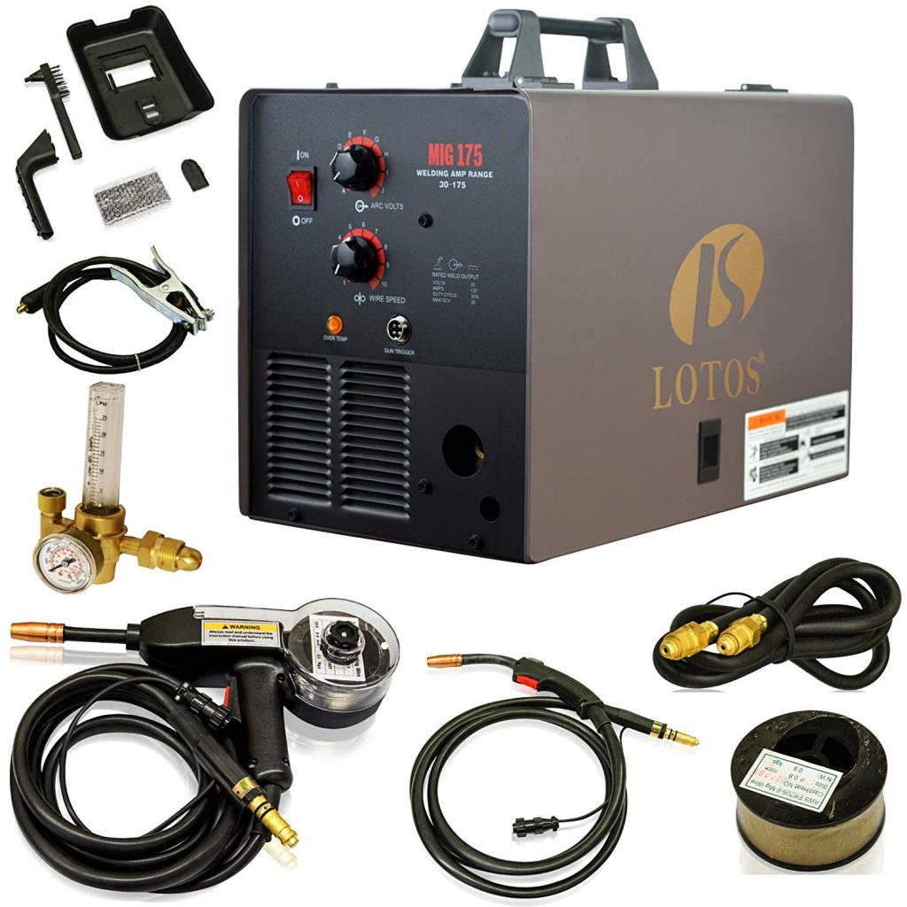 LOTOS MIG175 175AMP Mig Welder with Free Spool