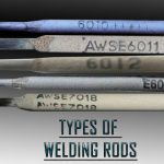 Welding rods are of different types with the most common welding rod sizes being the 6010, 6011, 6012, 6013, 7014, 7024 and 7018. These seven have different characteristics that make them suited to different welding projects.