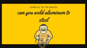 can you weld aluminum to steel