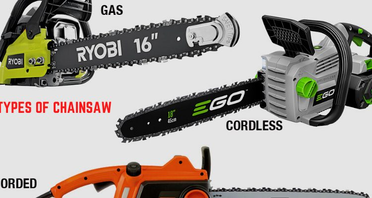 types of chainsaw